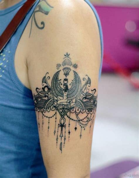47 graceful egyptian shoulder tattoos 32 impressive shoulder tattoos