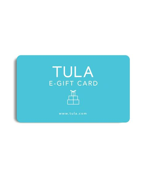 What Is E Gift Cards - e gift card tula skincare