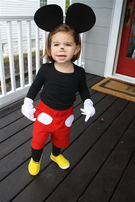 mickey mouse costume diy costume mickey mouse the chirping