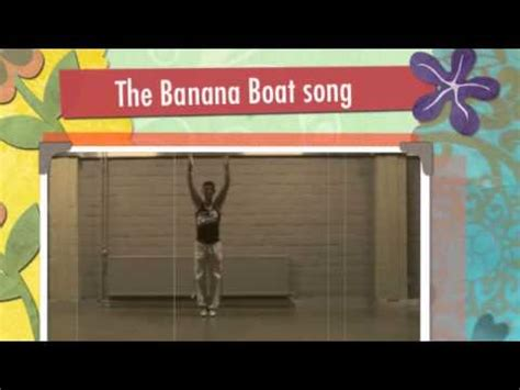 banana boat song dance gold dance fitness the banana boat song youtube