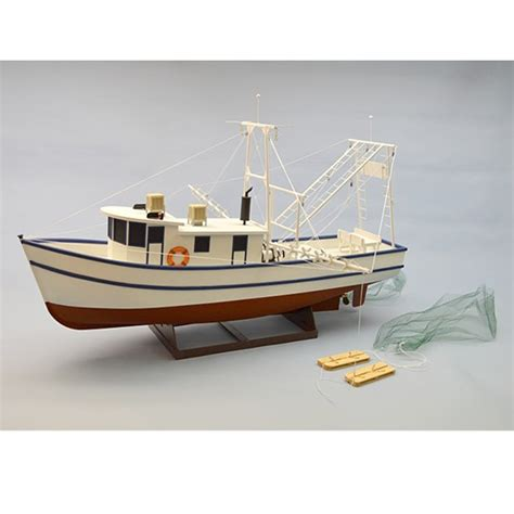 shrimp boat model kits rusty the shrimp boat kit 1 24 scale