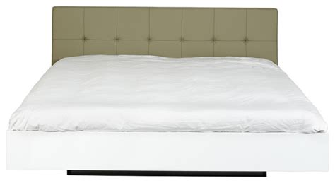 King Size Bed With Padded Headboard by Float King Size Bed W Upholstered Headboard Mattress