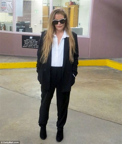 Elvis Private Jet Lisa Marie Presley And Michael Lockwood In Court Today
