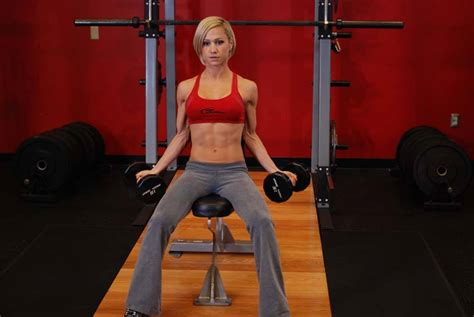 seated dumbbell curl seated dumbbell inner biceps curl exercise guide and