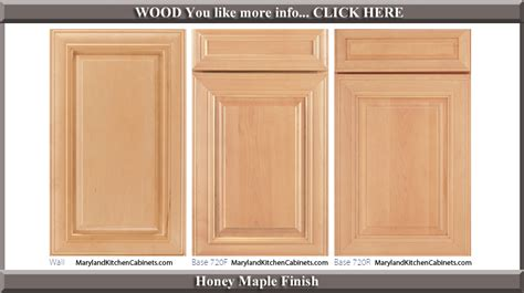 maple cabinet door styles  finishes maryland