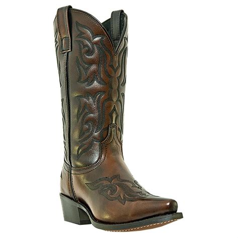 laredo boots s s laredo 12 quot hawk western boots 590524 cowboy