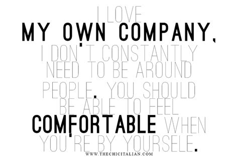 being comfortable with yourself comfortable with being yourself quotes quotesgram