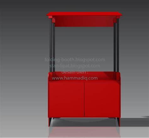 Meja Lipat Koenig Fold Panjang 200cm Lebar 60cm folding booth stan lipat gerobak lipat kayu glk 1 1