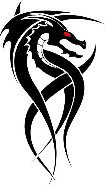 tribal dragon tattoo designs tribal designs