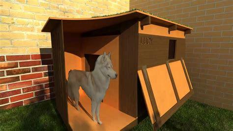 husky house dog lucy the husky doghouse final hd youtube