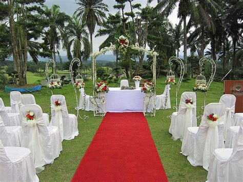 Outside Home Decor Ideas by Decoration For Wedding Garden Garden Engagement