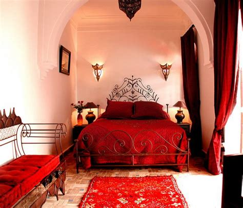 red bedroom accessories moroccan bedroom design ideas interiorholic com