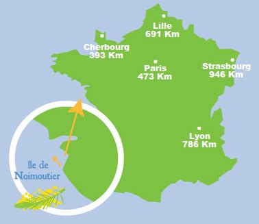 location bureau ile de location and map of noirmoutier island in