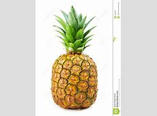 Fresh Pineapple isolated stock photo. Image of isolated ... Yellow Abstract Background