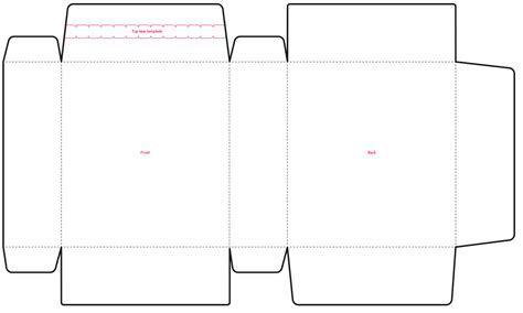 template layout photo packaging templates illustrator www pixshark com