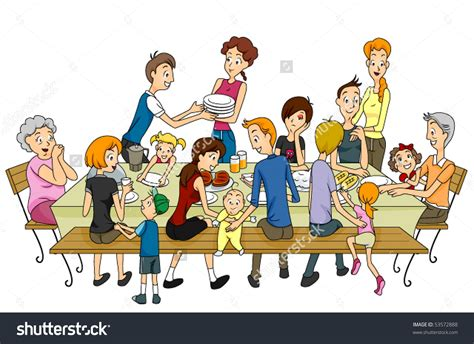 family clipart get together clipart clipground