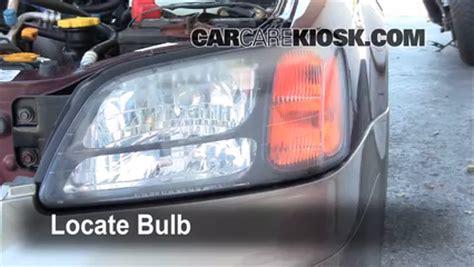 2000 subaru outback headlight bulb headlight change 2000 2004 subaru outback 2001 subaru