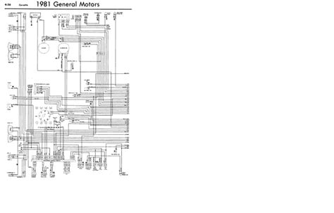 1981 corvette wiring diagram i a 1981 corvette with factory a c and a factory