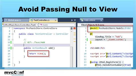 Layoutinflater Avoid Passing Null | improving asp net mvc application performance