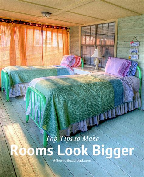 tips to make a small bedroom look bigger color ideas to make rooms look bigger how to make a small