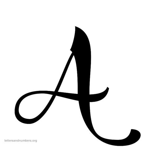 cursive letters az search results for fancy alphabet letters to print 1172