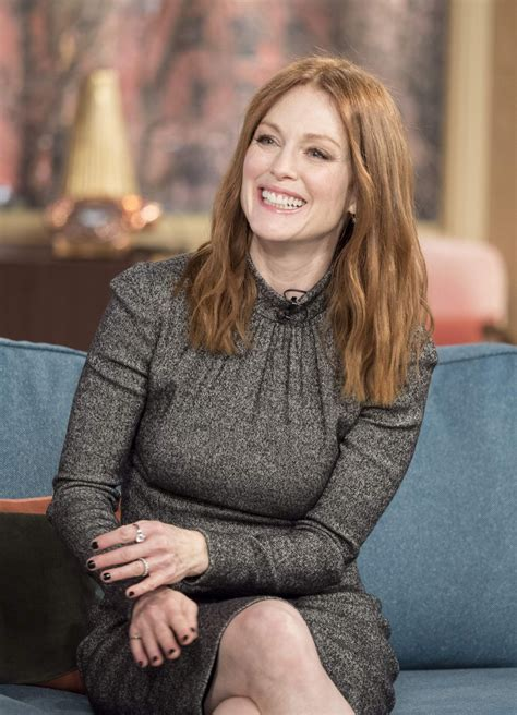 julianne moore julianne moore at this morning tv show in london 02 17