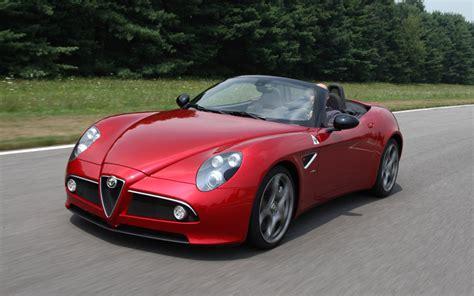 Alfa Romeo 8c Price by 2010 Alfa Romeo 8c Spider Drive Motor Trend