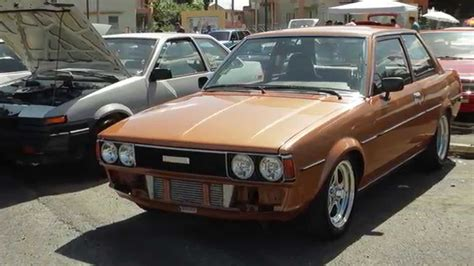 classic toyota cars classic toyota car show youtube
