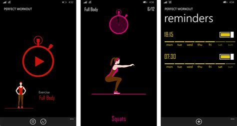 Get fit and trim with Perfect Workout for Windows Phone