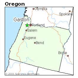 gaston oregon map best places to live in gaston oregon