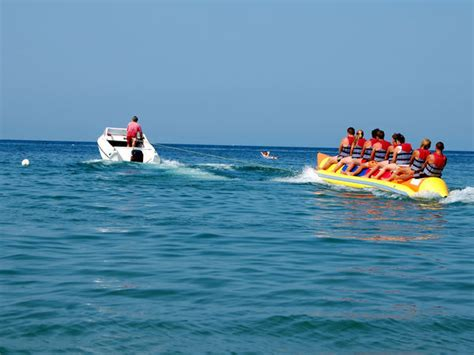 banana boat ride in goa things to do in goa for bachelors india