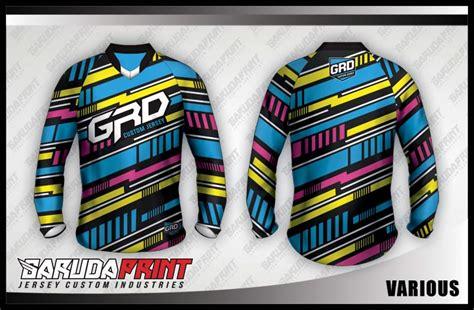 desain jersey downhill koleksi desain jersey sepeda downhill 01 garuda print