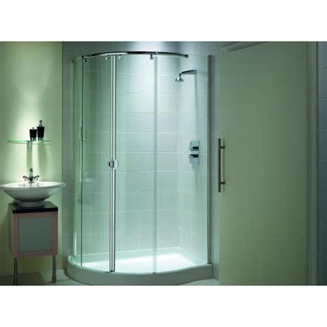 Corner Shower Enclosures Matki Ecc1290 Mirage Range Offset Corner Shower