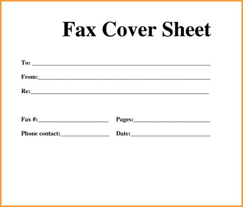 How To Make A Great Cover Sheet Mba by Fax Cover Sheet Free Printable Resume Cover Letter