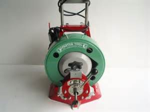 spartan cable machine spartan 300 sewer drain cleaning cleaner cable machine ebay