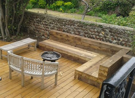 bench sleeper sleeper bench jpg 1500 215 1087 garden pinterest