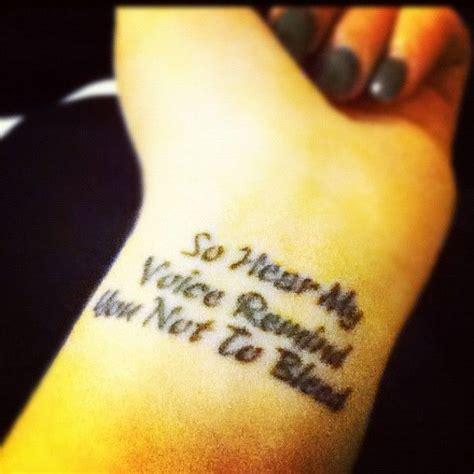 bvb tattoos black veil brides savior i like the lyrics and