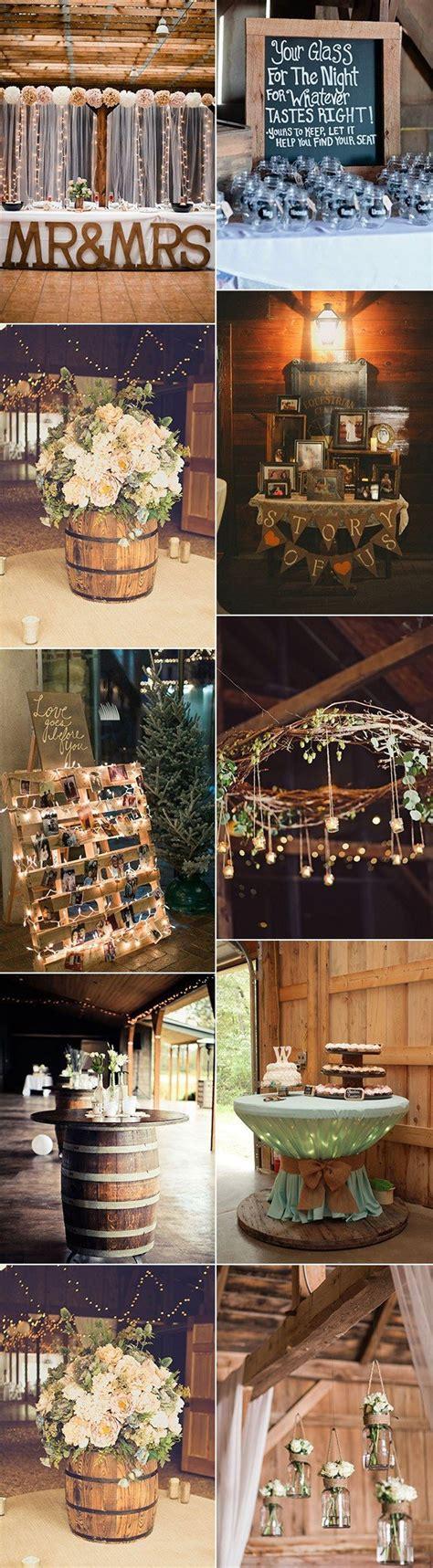 rustic barn wedding decoration ideas 18 country rustic barn wedding decoration ideas