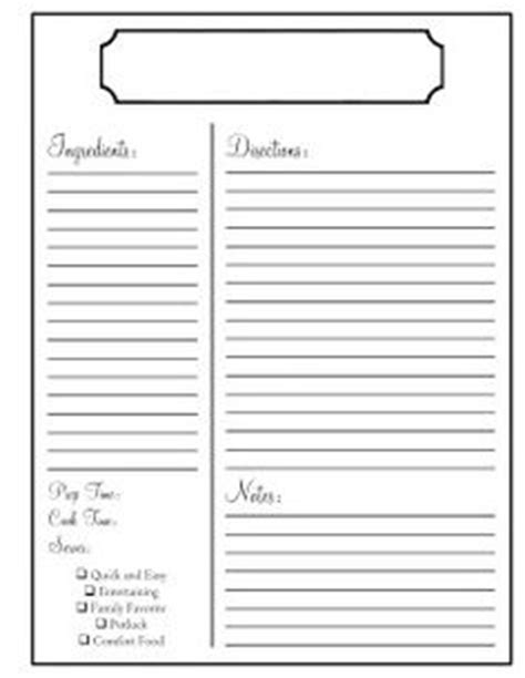 https tipjunkie projects recipe card template 2 printables paper crafts on recipe cards