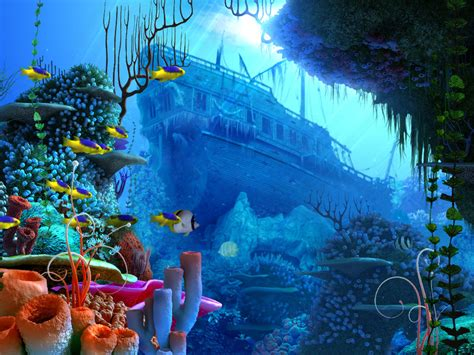 National Geographic Wall Mural coral reef 2 by indigodeep on deviantart