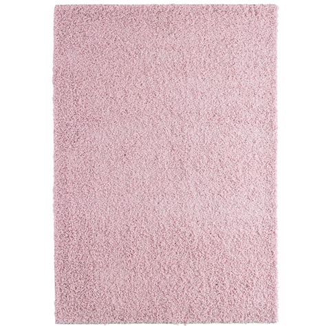 soft pink area rug lanart comfort shag soft pink 8 ft x 10 ft area rug cshag810ro the home depot