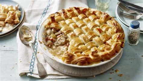 Berry Chicken Recipes Saturday Kitchen by Chicken And Bacon Lattice Pie Saturday Kitchen Recipes