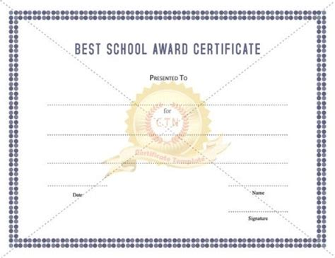 school award certificate templates 11 best academic award certificates images on