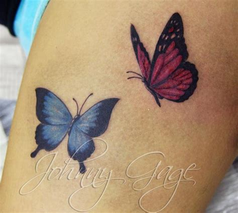 butterfly tattoos on thigh 20 lovely butterfly tattoos designs inspire leads