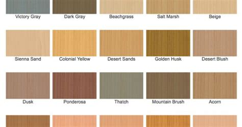 cabot stain semi solid stain color chart exterior house decking products and