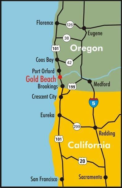 oregon gold maps rogue river fishing oregon salmon fishing