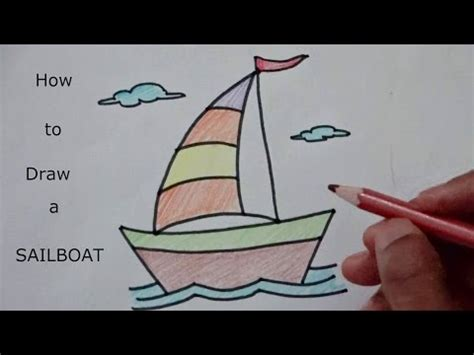 how to draw a boat using the figure eight how to draw a cartoon boat doovi