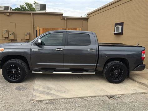 Toyota Tundra Stock Tire Size Tire On A Stock Tundra 4x4 Autos Post