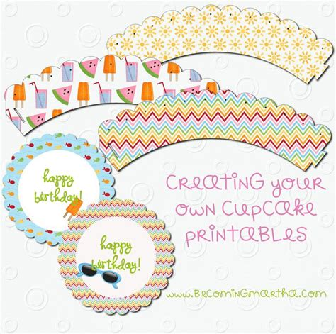 A Martha Esque Topper Of Your Own by 87 Best Images About Cupcake Wraps Toppers Other