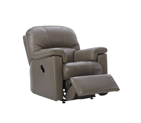 G Plan Chloe Leather Small Electric Recliner Chair Tr